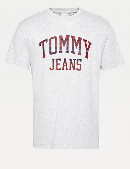 Camiseta Tommy Jeans Big Logo Blanco Hombre