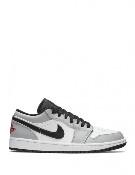 Nike Air Jordan 1 Low Gris Hombre 553558-030 Grey
